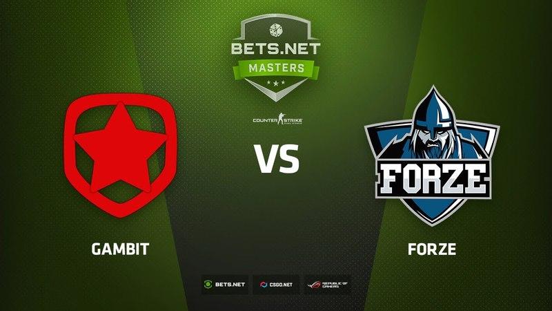 Gambit vs forZe, map 2 train, Bets.Net Masters