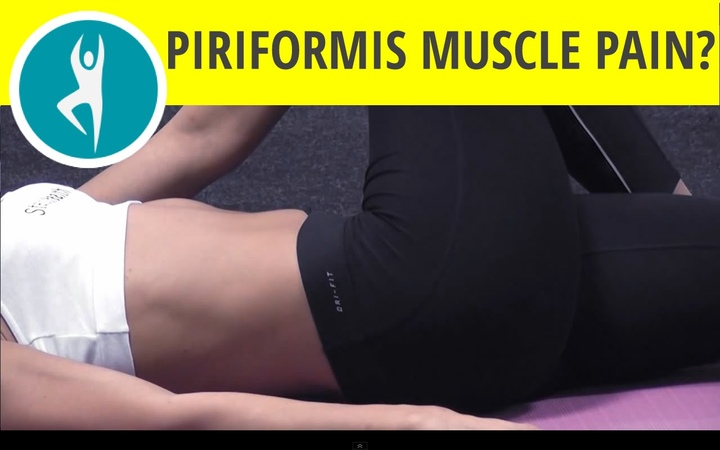 Try this piriformis muscle stretch Sciatica pain caused by piriformis muscle supine