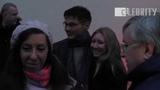 Morten Harket from a-ha arrived to Moscow on train, 19.10.2014 Мортен Харкет приехал в Москву