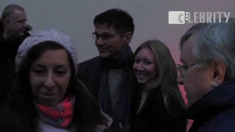 Morten Harket from a-ha arrived to Moscow on train, 19.10.2014 / Мортен Харкет приехал в Москву