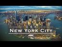 New York City (NYC), USA - by drone [4K]
