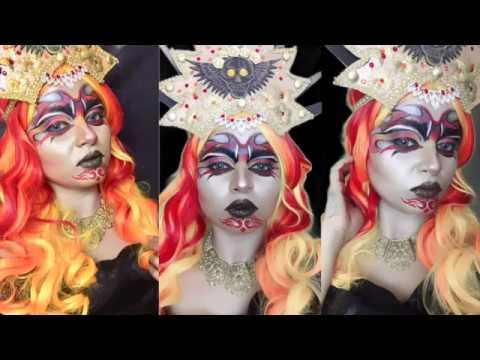 Mouvena: Drop Dead Gorgeous Queen of the Underworld, FaceAwardsIndia 2018, NYXCosmeticsIndia