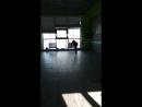 Первое выступление Настёны по художественной гимнастике в фитнес-клубе Атлетик