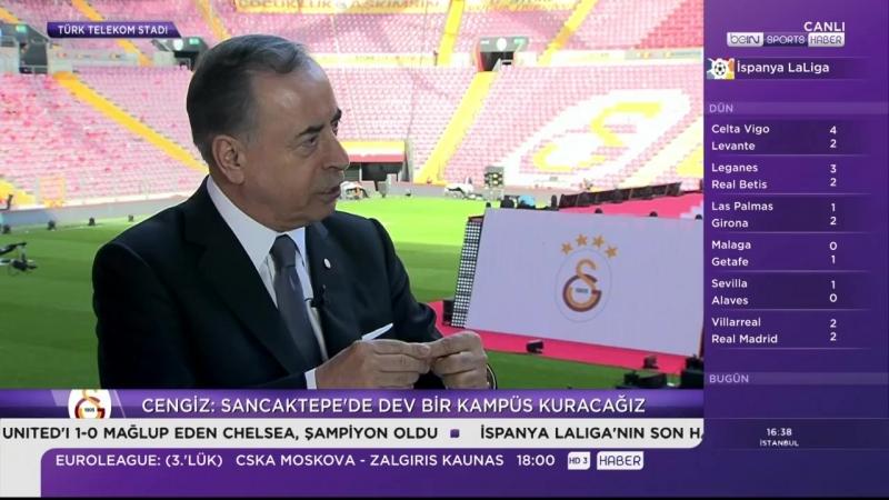 Başkan Mustafa Cengiz Beinsport Özel Açıklamalar 23