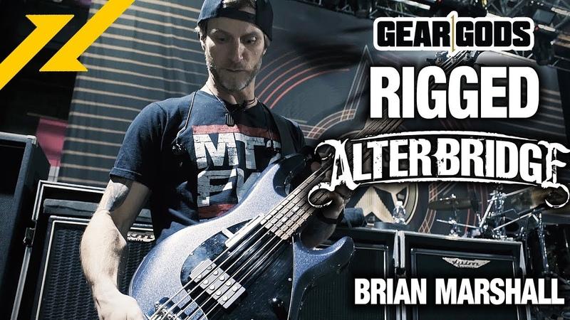 RIGGED: Alter Bridge Bassist BRIAN MARSHALL's Bass Rig