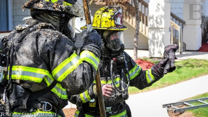 Toledo firefighter develops dryer