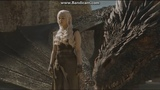 Game Of Thrones S06E09 - Daenerys &amp Her Dragons Destroy Masters Fleet (Full Scene)