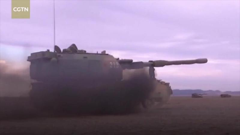 72-я группа НОАК провела оборонительные манёвры земля-воздух