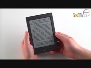 Обзор Amazon Kindle 4
