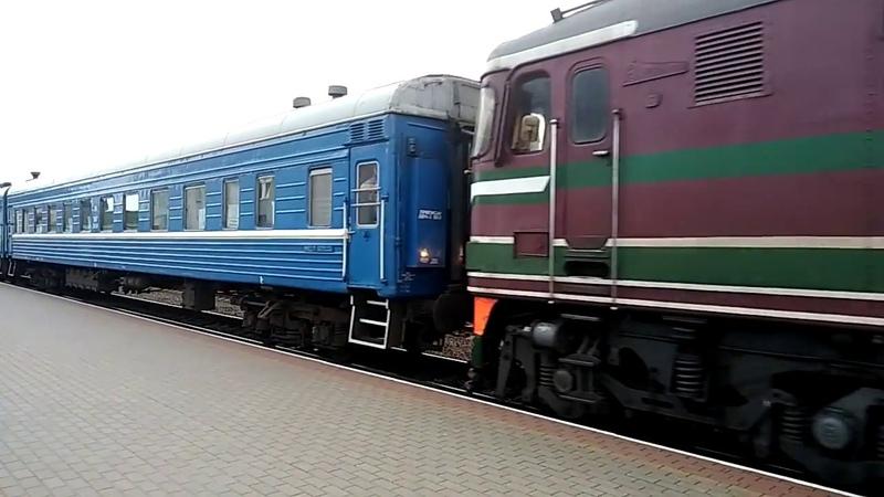ТЭП 60 на станции Лида