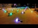 Площадь в центре Костаная скоро засветится разноцветными огнями
