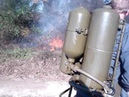 M2-2 Flamethrower in action