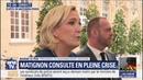 Consultation Le Pen affirme qu' il faut annoncer la suppression des taxes sur l'essence
