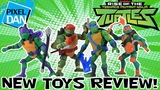 Rise of the TMNT SDCC Exclusive Figures Review - Teenage Mutant Ninja Turtles Toys!