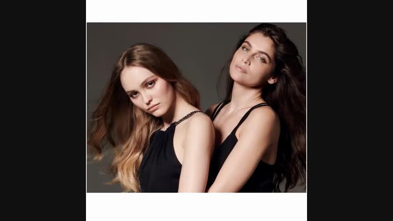 Лили-Роуз и Летиция Каста для «Madame Figaro»
