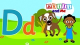 D is for Dog! Learn Letter D with Akili Cartoons for Preschoolers