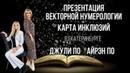 Презентация векторной нумерологии | Карты инклюзий | В Екатеринбурге Джули и Айрэн По