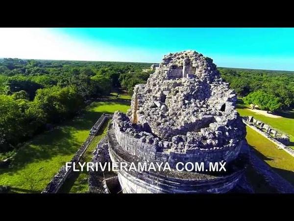 DJI-Phantom - Chichen Itza 2014 Unique aerial filming footage