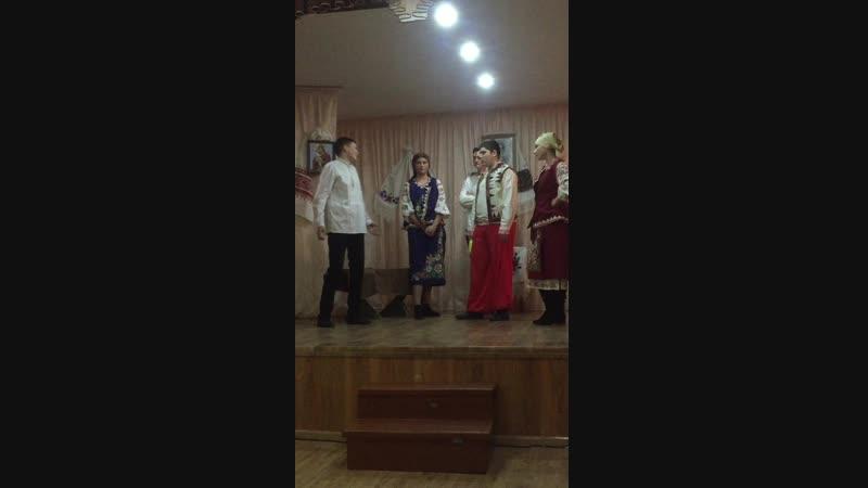 Уривок з вистави Кайдашева сімя.ХГМТ ОДЕКУ 13.12.18