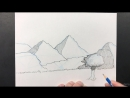 019 Creating a landscape out of geometric forms