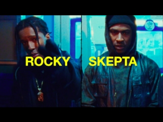 "A$ap rocky – ""praise the lord""  ft. skepta"