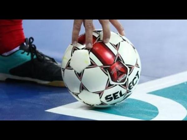 Futsal tactic. мини-футбол, вскрытие обороны с помощью 'восьмерки'