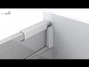 Система выдвижных ящиков InnoTech Atira монтаж установка и регулировка