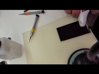 Замена дисплейного стекла на Iphone 5s
