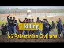 Les violations de l'occupation et les crimes contre les manifestants pacifiques lors des marches de retour à la frontière de Gaz