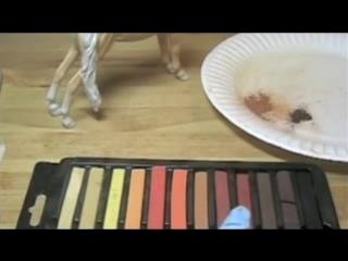 Урок раскрашивания пастелью