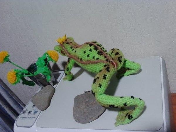 Царевна-лягушка, ч.2. Princess Frog, р.2. Amigurumi. Crochet. Амигуруми. Игрушки крючком.