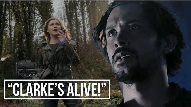BELLARKE || 5X03 *AU* || Bellamy HEARS Clarke's radio call