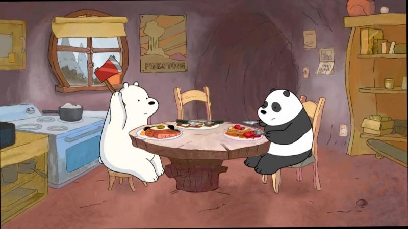 Сезон 1 - Серия 2 Популярный ролик • Вся правда о медведях • Мы обычные медведи • We Bare Bears