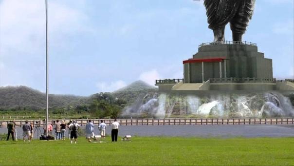Высочайшая статуя в мире открыта в Индии