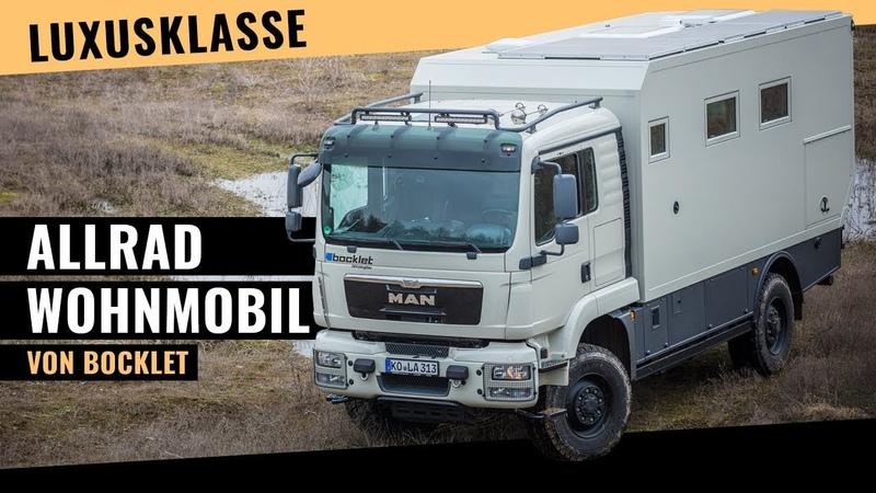 Allrad Wohnmobil der Luxusklasse – MAN TGM 13.290 von Bocklet