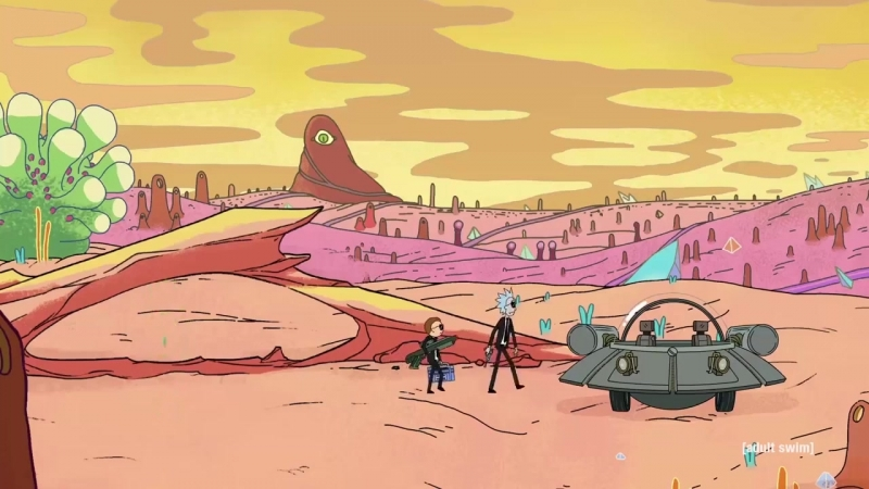 Rick and Morty Run The Jewels Music Video Trailer Oh Mama Easter Eggs