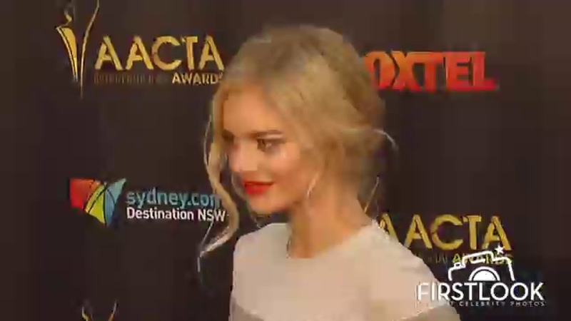 Samara Weaving attends 5th AACTA International Awards