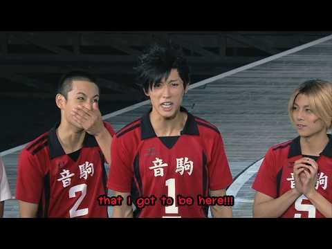 Hyper Projection Engeki 「Haikyuu 」 Karasuno Revival Nekoma Cast's Speech Eng Sub