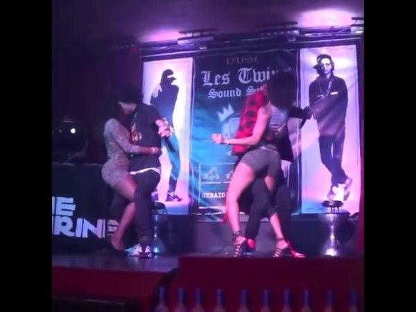 Les Twins Dance with Girls 🎵Pas la penn palé🎵 by Tikat
