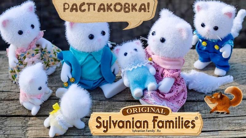 Персидские коты Сильвания Фэмили.Sylvanian Families. Распаковка.