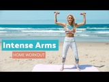 Intense Arm Workout - LOSE UPPER BODY FAT Rebecca Louise