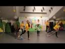 экологическая визитка Танцуй вместе с природой 2018