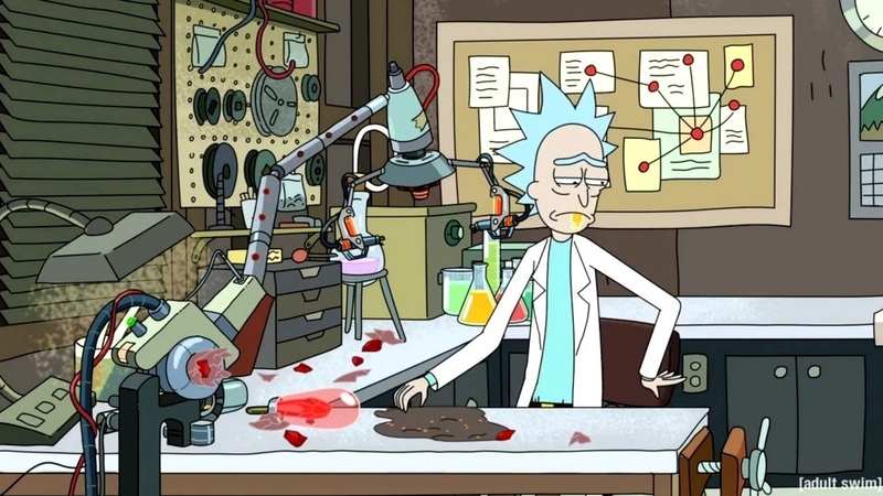 Chaos Chaos Do You Feel It RICK AND MORTY