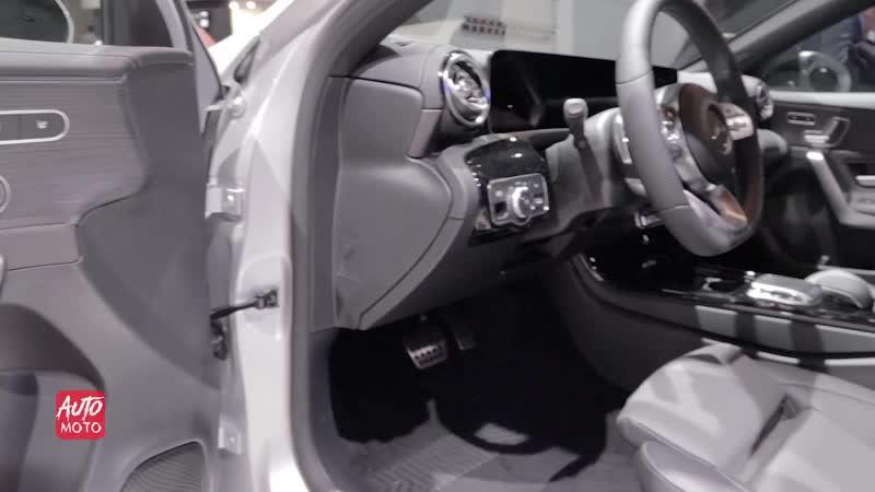 2019 Mercedes A200 HatchBack - Exterior And Interior Walkaround - 2018 Paris Motor Show