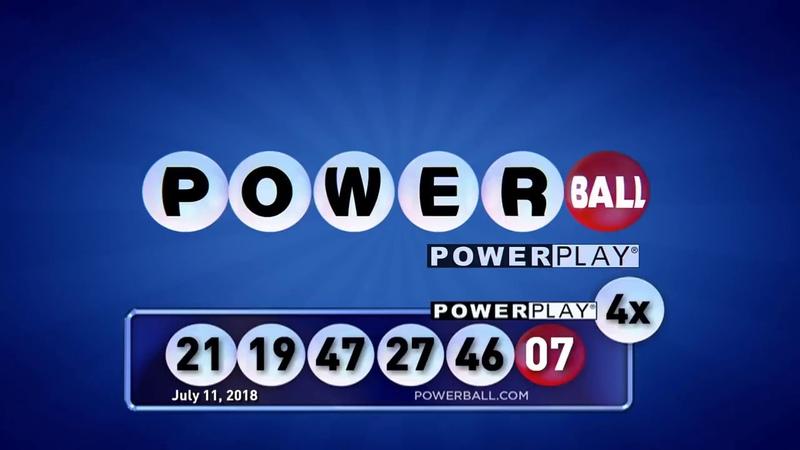 Результаты розыгрыша Powerball от 11.07.2018