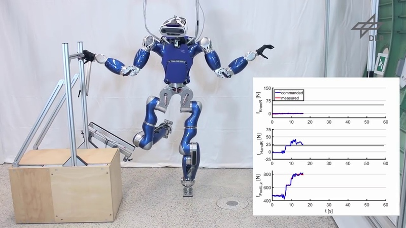 DLRRMC /Multi-Contact Balancing of Humanoid Robots in Confined Spaces: Utilizing Knee Contacts