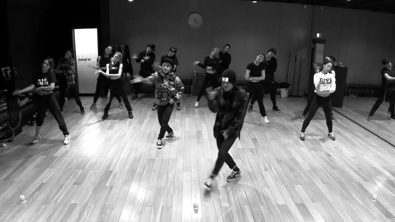 GD X TAEYANG - GOOD BOY DANCE PRACTICE VIDEO