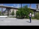 Работаем на заводе феросплавов с Владимиром, каждый раз с восторгом смотрю какой квадрик у него ручной Красивый подъем,полет!
