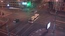 Момент падения автомобиля в подземный переход в Минске попал на видео