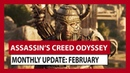 ASSASSIN'S CREED ODYSSEY: MONTHLY UPDATE: FEBRUARY